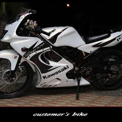 MODIFIKASI KAWASAKI NINJA RR 150 | BIKE MOTORCYCLE