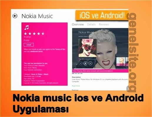Nokia music uygulaması, ios ve ardroid'e geliyor