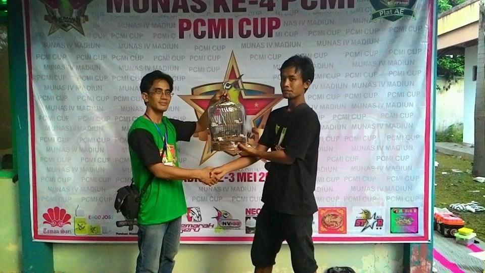 Pemenang sangkar cungkok Munas PCMI IV Madiun