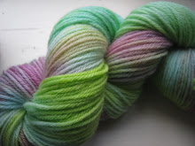 Hand dyed millspun