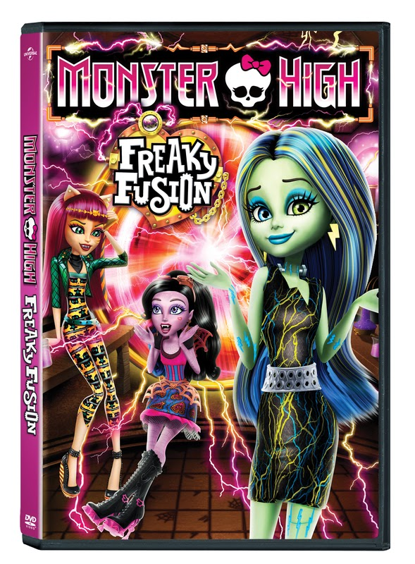 cool moms cool tips Monster High: Freaky Fusion DVD
