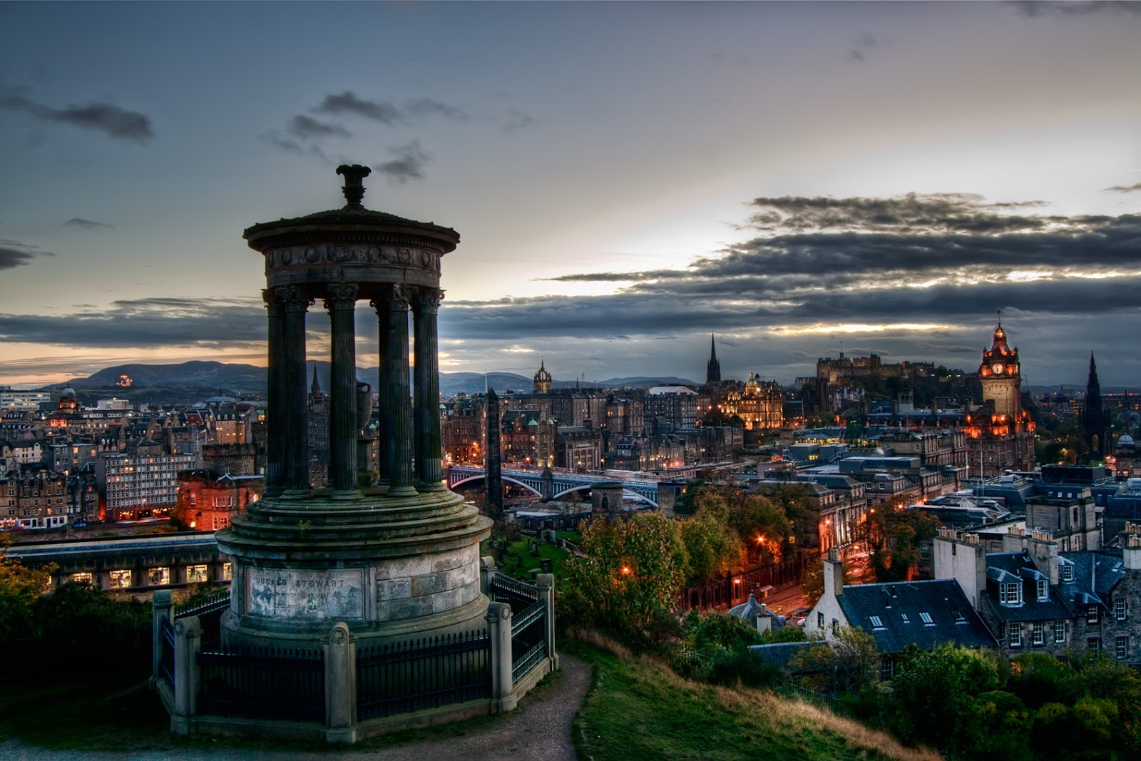 Edinburgh Capital Of Scotland World