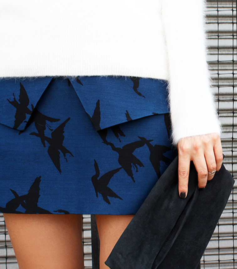 Blame it n Fashion Marie Hindkaer Wolthers Tibi Skirt