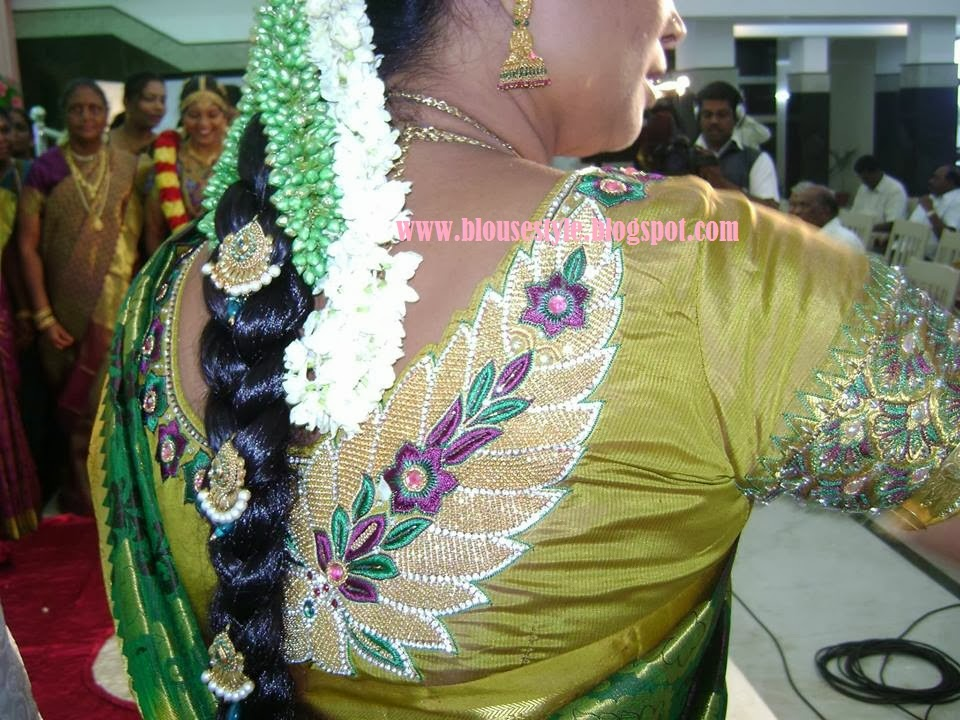 wedding embroidery blouse