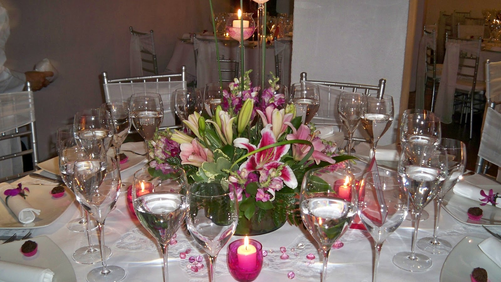 Decoraci n floral aura rosa camacho matrimonio flores - Camacho decoracion ...