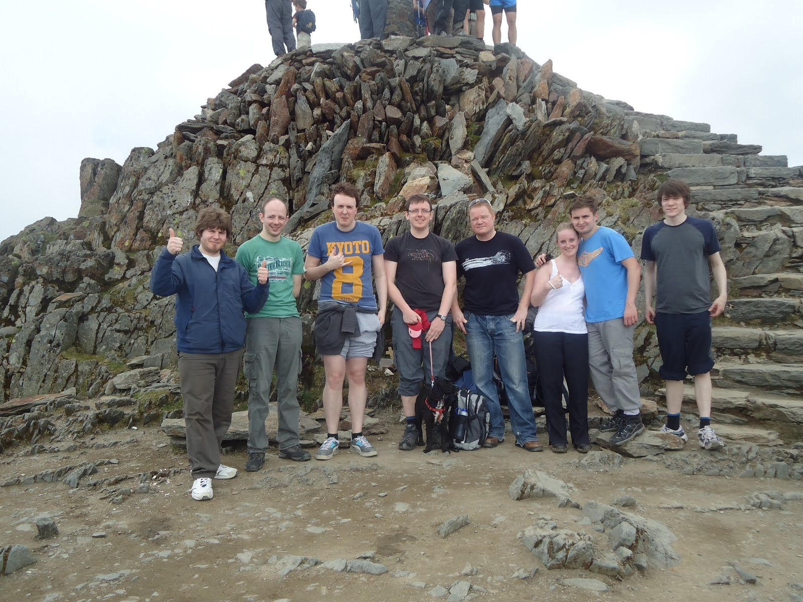 Web Designers Beat Snowdon
