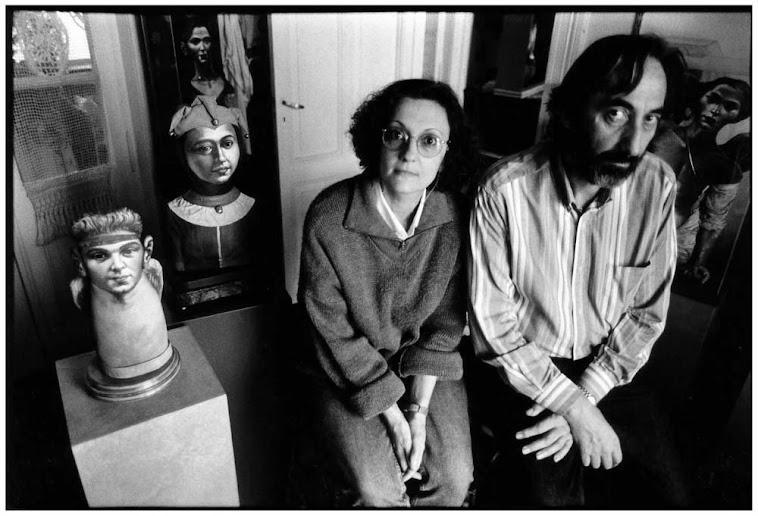 Ines Vega y Hugo Sbernini