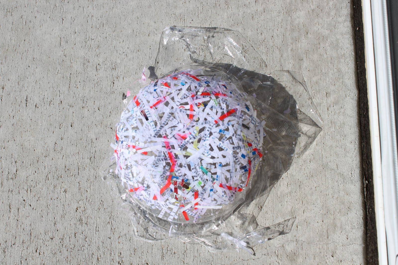 An unconventional june diy paper bowl for Diy paper bowl