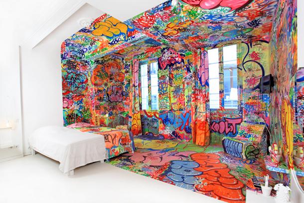 Panic Room at hotel Au Vieux Panier by Tilt