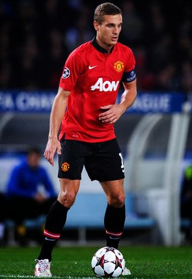 Nemanja Vidic Manchester United Cetre Back 2014