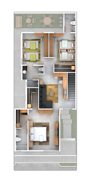 Planos de casas y plantas arquitect nicas de casas y - Como alquilar un piso ...