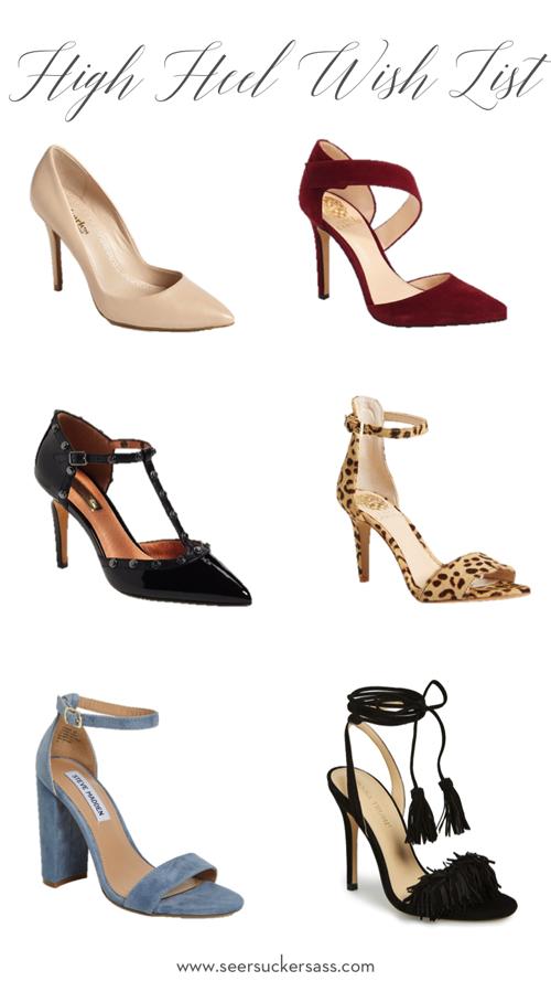 popular high heels in 2016