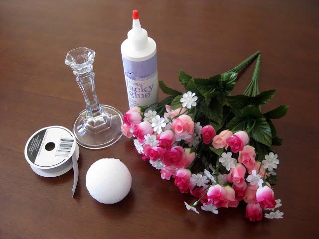 Centros de mesa de flores ii - Centro de mesa con flores artificiales ...