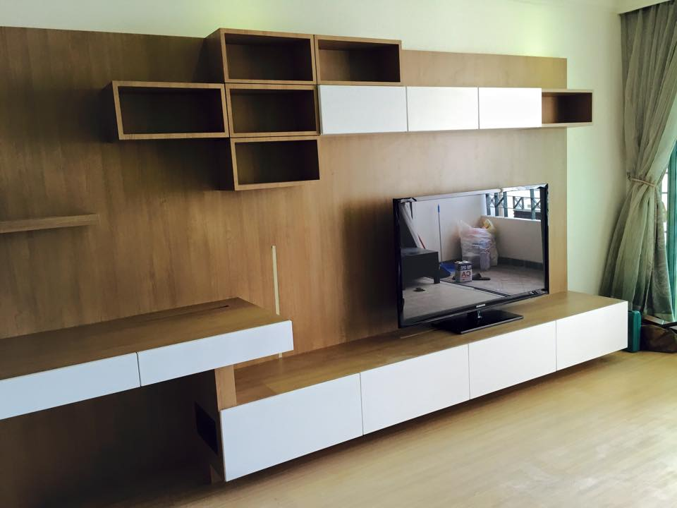 Fukusu Furniture Design For 3 In 1 Tv Cabinet With