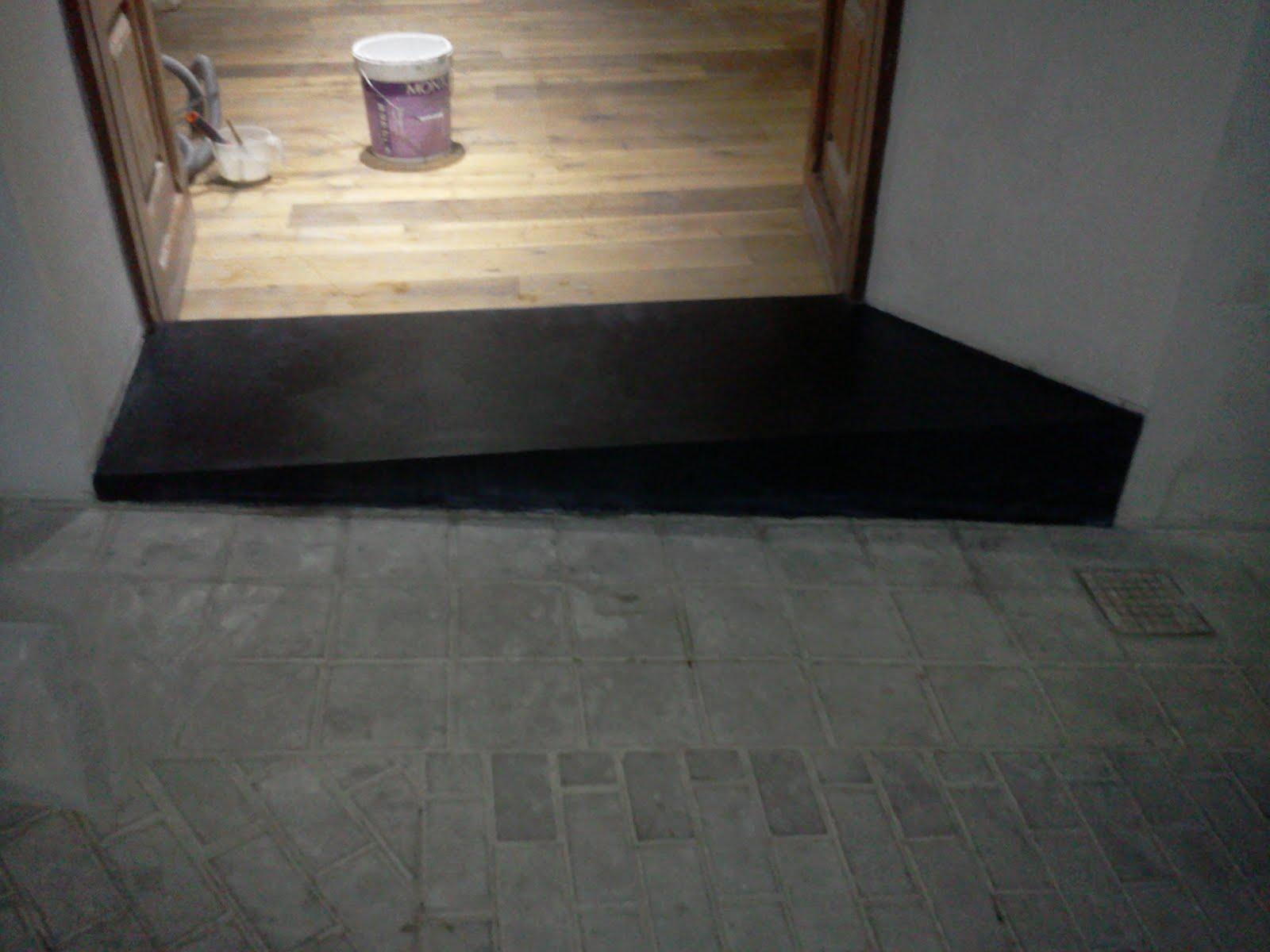 V ctor s ez calatayud microcemento parquet y tarima flotante for Wohnzimmer 4 x 8
