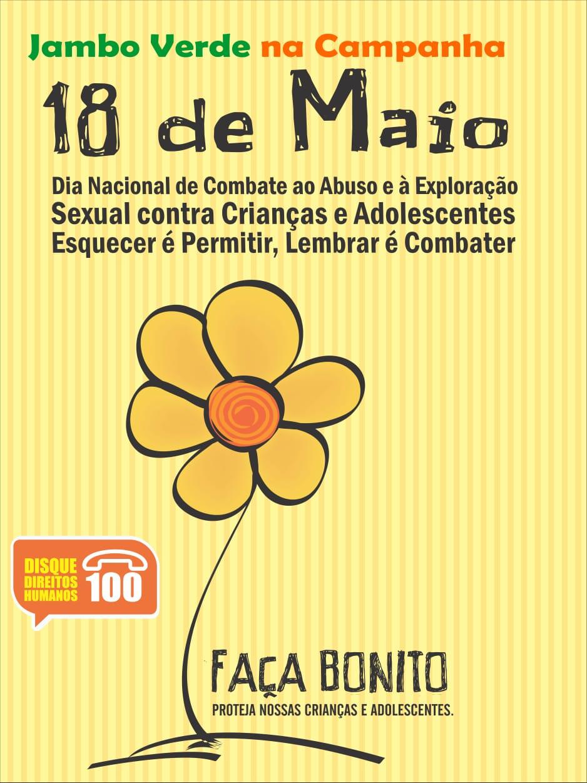FAÇA BONUITO - AJUDE A PROTEGER NOSSAS CRIANÇAS