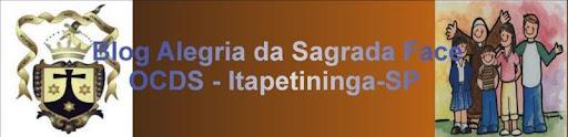 """...OCDS Alegria da sagrada Face Itapetininga-SP..."