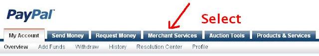 paypal merchant services