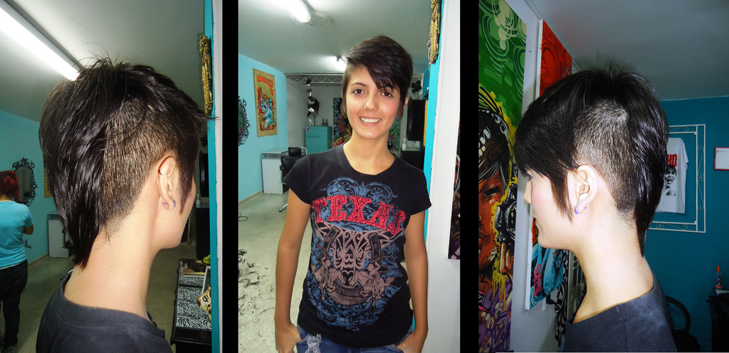 So Take A Look And Let Me Know What Do You Think Of The Mohawk And Fauxhawk  On Women. Hot Or Not?