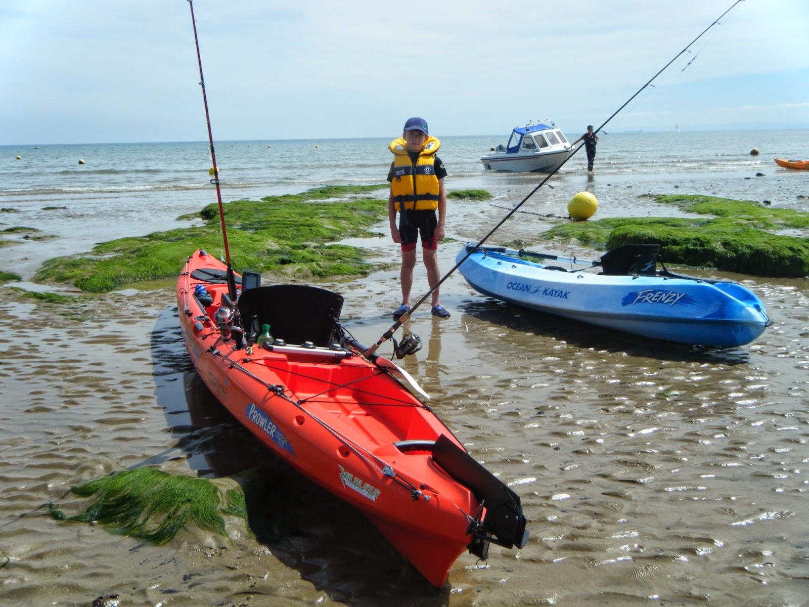 Ocean kayak uk fishing team july 2014 for Ocean kayak fishing