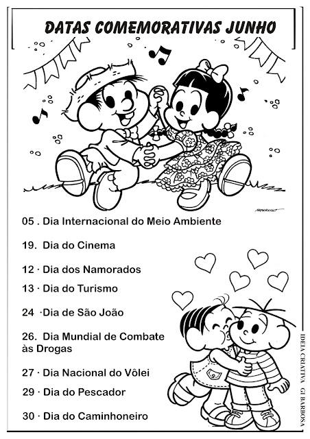 Datas Comemorativas Mês de Junho