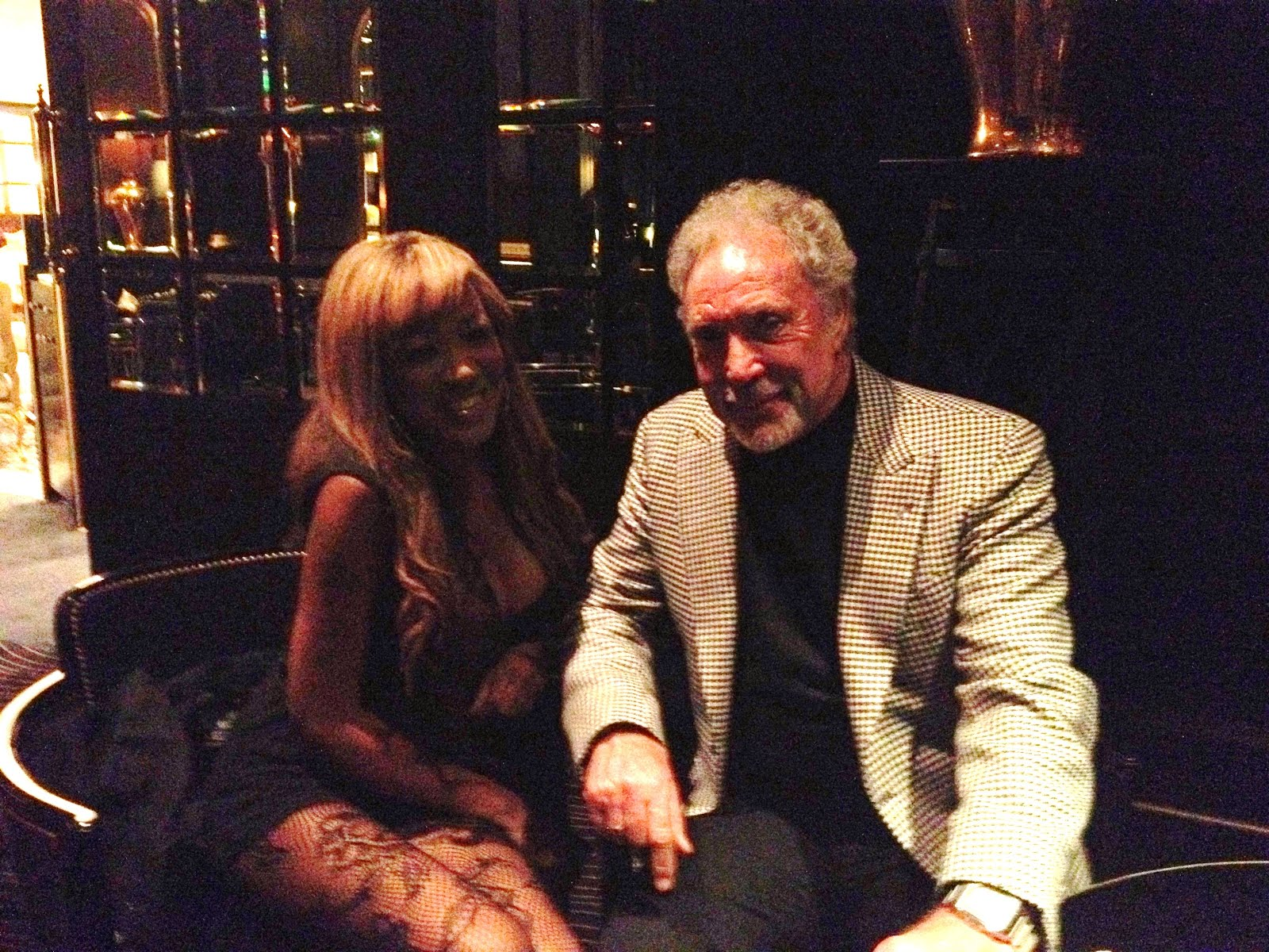 #TomJones with me @ The Savoy though