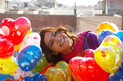 Actress Samantha with Colorful Balloons