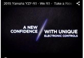Test ride new 2015 Yamaha YZF-R1