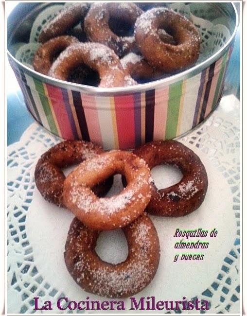 Rosquillas De Almendras Y Nueces