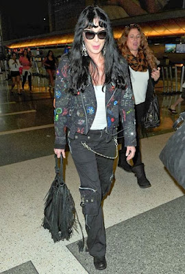Cher at LAX Airport, 30 September 2013