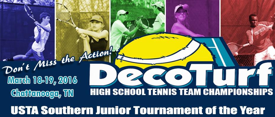 DecoTurfHigh School Tennis Team Championships