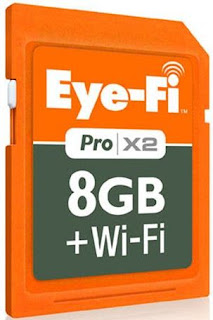 Gadget Accessory of the Year Eye-Fi Pro X2 card