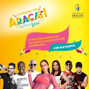 Informações sobre o carnaval de Aracati? Clique no banner