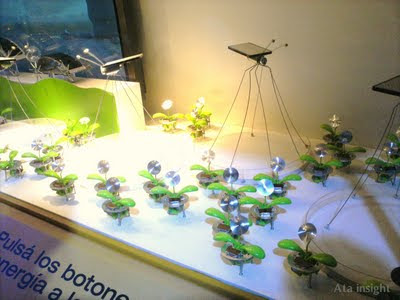 Mosquitos solares Tecnópolis