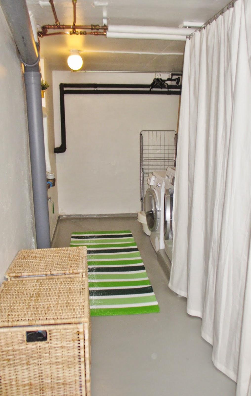 Pias planer: tvättstugan