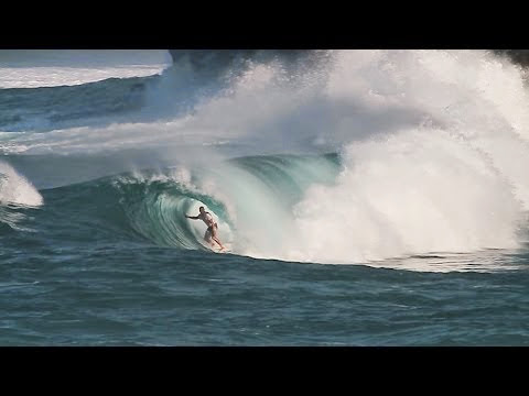 Kelly Slater surfing in Java Indonesia