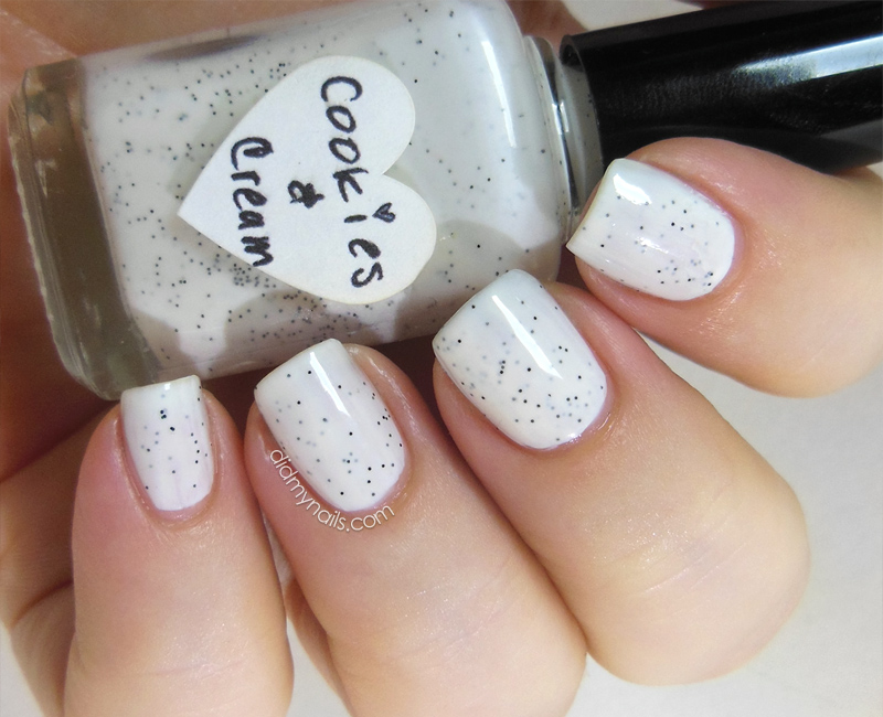 The Hungry Asian Cookies & Cream swatch