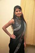 Model Shehnaaz Glam pics in saree-thumbnail-5