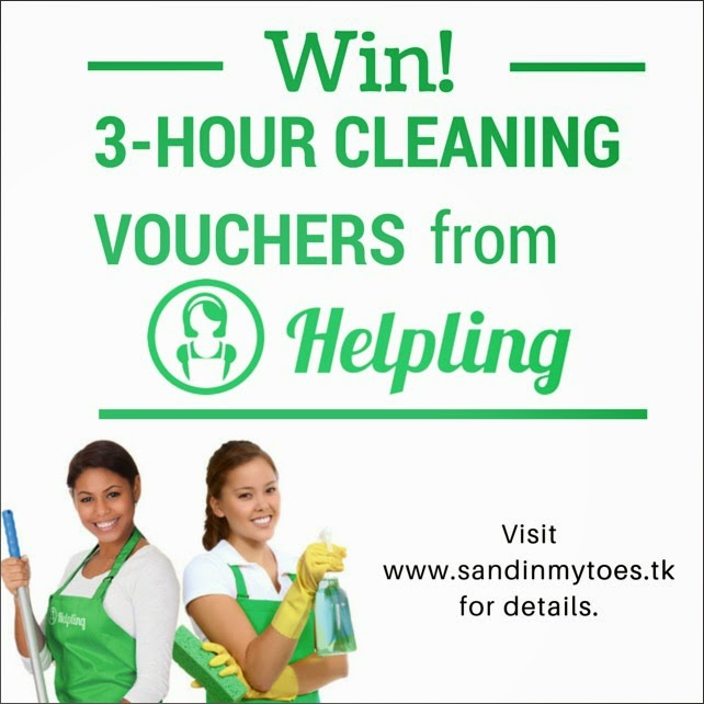 Win 3-hour cleaning vouchers from Helpling, Dubai