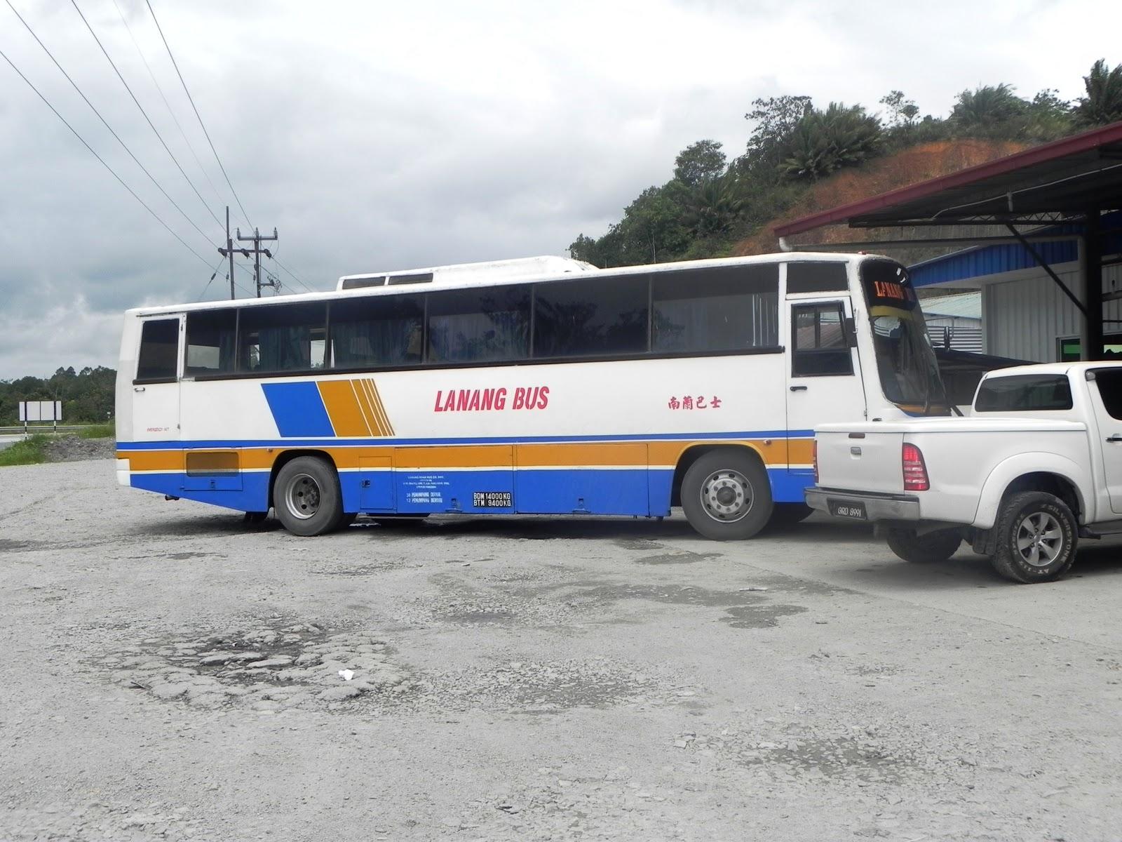 Mukah Malaysia  City pictures : Bas yang membawa kami ke Mukah