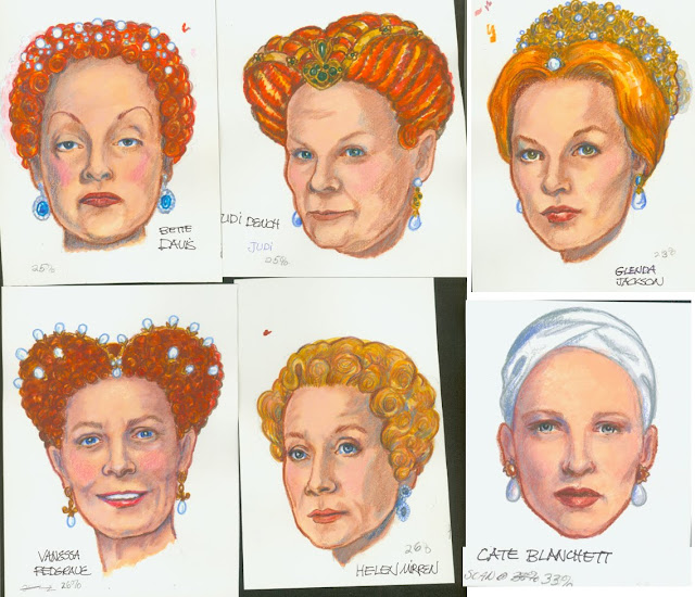 Queen Elizabeth On Screen Portraits