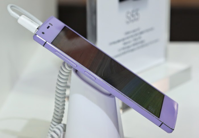 Le nouveau smartphone le plus fin du monde