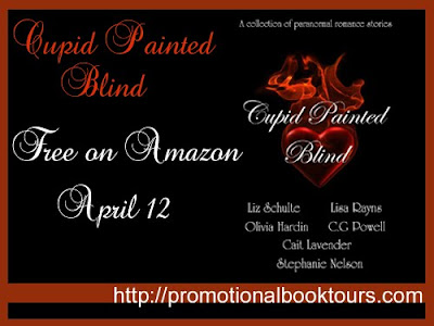 Cupid Painted Blind Picture