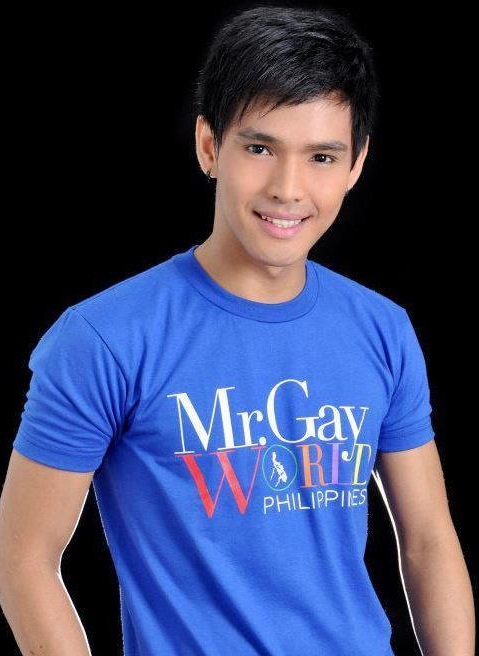 Pageant veteran Carlito Rosadino Jr was crowned Mr. Gay World Philippines ...