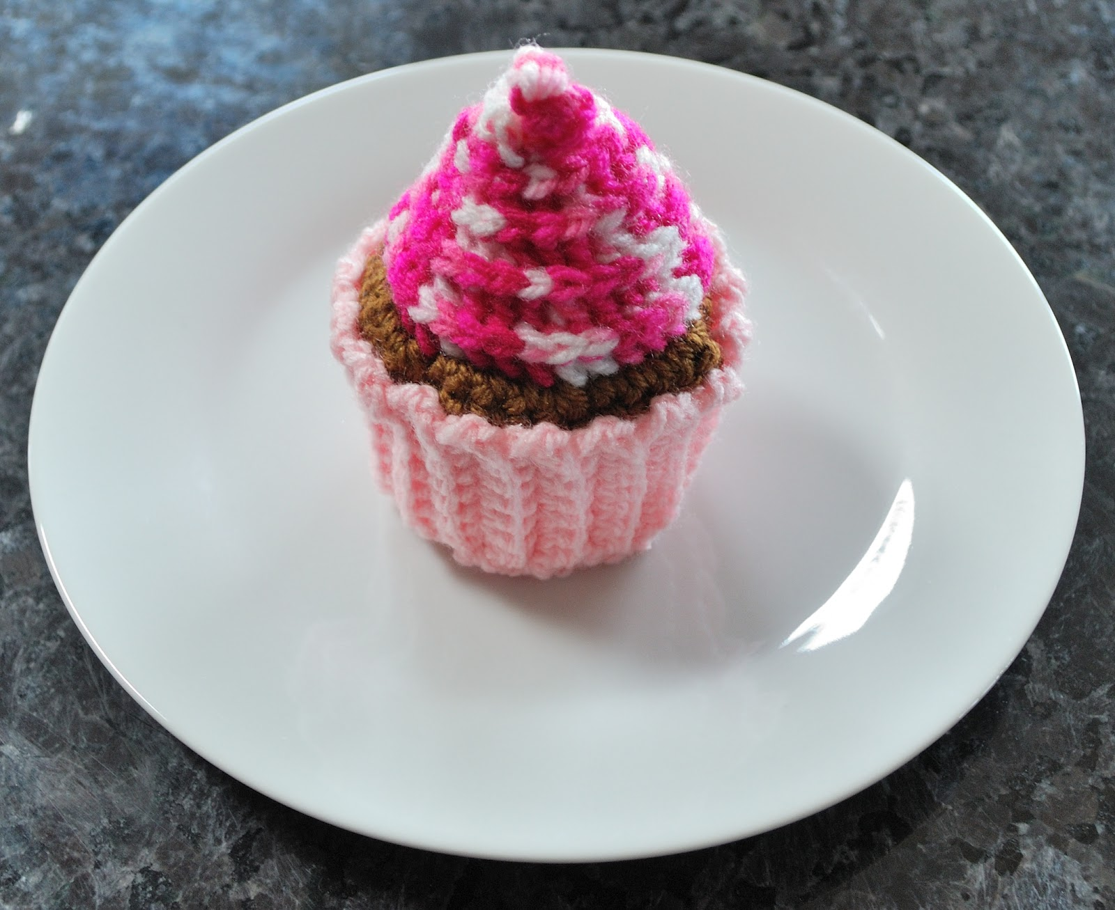 Everythings better with a touch of sugar crochet cupcake with crochet cupcake with frosting swirl so heres a cupcake i made and im posting the pattern on ravelry or trying to figure out how to anyway bankloansurffo Gallery