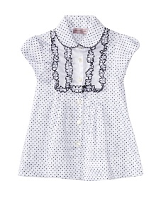 MyHabit: Up to 60% off Designer Deals for Girls: Lol Dotted Short Sleeve Blouse
