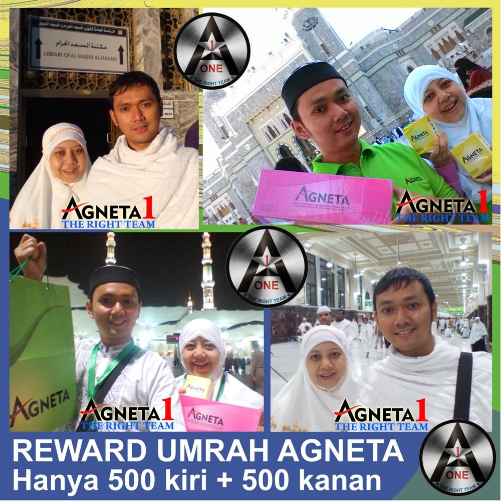 Mira & Suami, Peraih Reward Umroh dari Bisnis Agneta