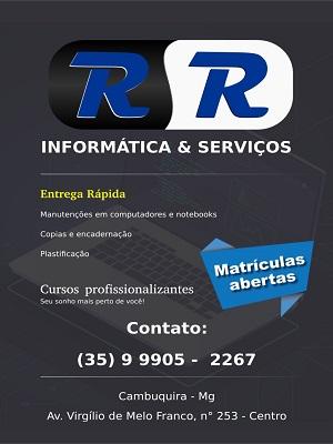 RR - INFORMÁTICA & SERVIÇOS