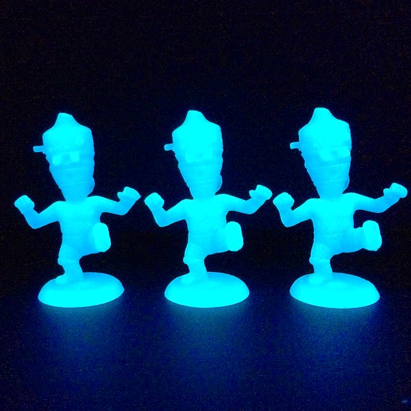 Glow in the Dark Mini IG-BABA Resin Figure by Healeymade