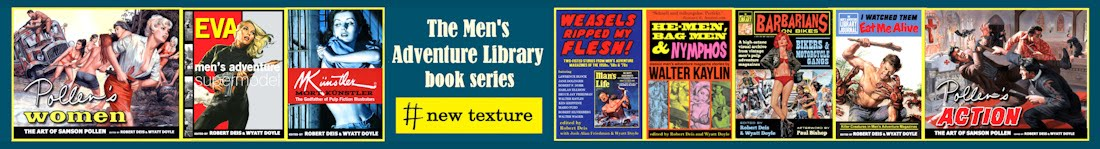 Our books on Amazon: the MEN'S ADVENTURE LIBRARY series...